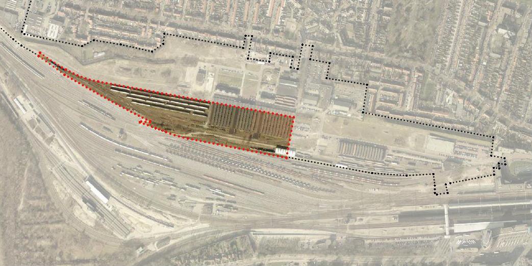 Werkzaamheden opstelterrein Wagenwerkplaats, meer info: http://wagenwerkplaats.eu/opstelterrein
