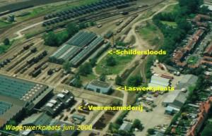 Locatie Schildersloods Luchtfoto juni 2000