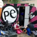 @work PEtv caravan Per Expressie Laswerkplaats Wagenwerkplaats Amersfoort